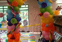 Candyland Theme / Everything Candyland for birthday parties and more.