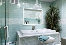 Beautiful Bathrooms / Beautiful bathroom ideas or ideas to make the bathroom tidier etc.