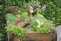 Gardens for Angels' & fairies / by Vision Boards