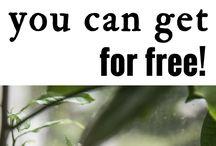 Free gardening