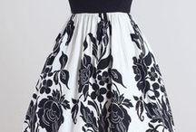 1950'lerden vintage elbiseler