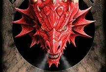 Dragões Medievais Criaturas seres Magicos
