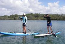 Stand Up Paddle Boarding in the Sun