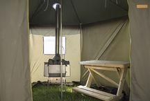 Sauna tent