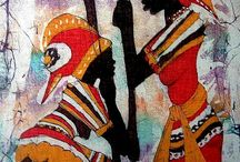AFRICAN ART / A collection of inspiring African art from around the world.
