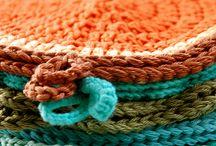 Crochet kitchen textiles