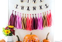 All Things Fall / Fall decor, crafts, and color inspiration