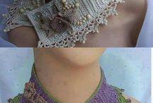 cuellos tejidos