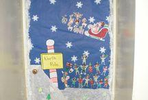 Christmas Door Decor / by Susan Walters