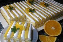 Moučníky sladké - řezy, koláče