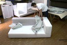Togliere e rimettere il rivestimento di un divano, come si fa? -video- / Come posso togliere e rimettere il rivestimento di un divano? .. domanda molto frequeste! In questo filmato vi facciamo vedere quanto sia facile sfoderare e rifoderare un nostro divano. Buona visione
