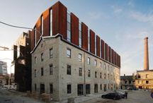 Architecture extension / extension of apartment buildings
