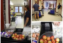 FOOD CARTS Rock in School Meals / FOOD CARTS are an efficient and effective way to serve grab-n-go breakfast, lunch and snack meals to hungry students, especially in middle and high school