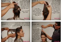 Step by step haircuts