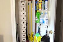 Organize dem cleaning products