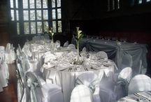 Winter Wonderland Themes / Winter wonderland themed venue dressing.