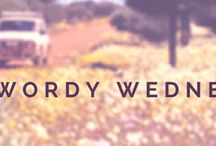 Wordy Wednesday / Wordy Wednesday is a weekly feature on my blog where authors can share excerpts from their works and readers can discover that next book they just have to get... :)
