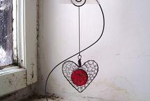 supporto decorativo in ferro
