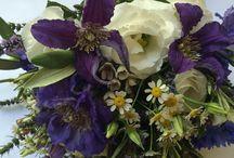 Purple,Lilac & Muted Lilac wedding  flowers