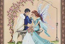 sweet couple fairy
