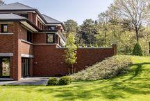 KABAZ - Landhuis in Frank Lloyd Wright stijl / Nieuwbouwwoning ontworpen door de architecten en stylisten van KABAZ.