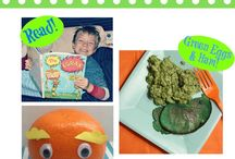 Dr. Seuss / Dr. Seuss Inspired crafts, recipes, books, and fun!