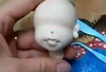 air dried porcelain clay