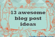 Blogging / Useful #blogging tips Hogtronix come across. / by Hogtronix Ltd