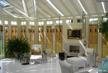Conservatory's glass house