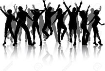 flyer zingende mensen