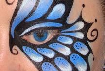 Makeup papillon