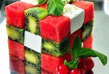 Présentation de fruit