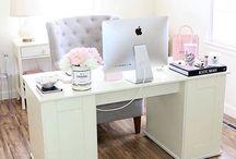 biuro i pracownia / Inspiracje aranżacji wnętrz
