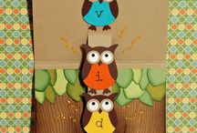 Punch Your OWL Out / Punch art and ideas to use with the Stampin Up Owl punch:) / by Gretchen Taylor