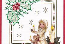 Hobbydots kerstkaarten