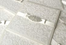 Pocket Fold Wedding Invitations / A range of our bespoke handmade pocketfold wedding invitations.