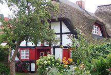 Häuser Veranda