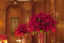 decoração vermelho