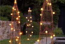 ogród oświetlenie