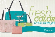 FRESH and COOL Items / Spring, Bright, Fresh, Findings, Appealing Objects, Miche, Thirty-one, Purses, all things appealing