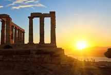 Cape Sounio / Take a day trip to #Cape_Sounio and admire the iconic Temple of the Poseidon and the great sea view! http://goo.gl/7ruIo7
