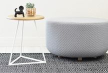 Ottoman   Living Space / A collection of beautiful ottomans. Ottomans are perfect for seating AND storage.
