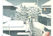 Kawase Hasui - Woodblock prints / Kawase Hasui (1883-1957)
