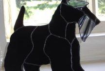 Hund Scottish Terrier