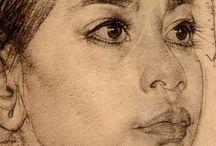Рисунок Портрет