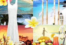 "Tropical Romance / A wedding should be chic and fun, not expensive. My wedding theme is tropical romance. I posted some inspirational pictures and some amazing low budget items I found at ""DollarTree.com ""...hope you enjoy my board. :) / by Mayra Gomez"