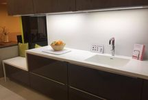 Tristone Worktops / TRistone worktops can be found in our showroom