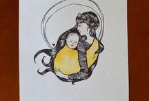 babywearing art