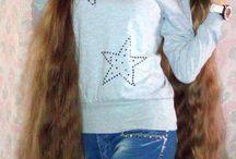 Floor Lenght Hair