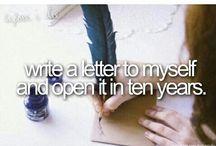 ... before I die ....